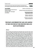 prikaz prve stranice dokumenta The Past and Present of Age and Ageing in The Country of the Pointed Firs and Olive Kitteridge