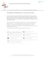 prikaz prve stranice dokumenta The global collaboration on traumatic stress
