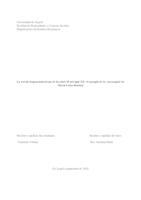 prikaz prve stranice dokumenta La novela hispanoamericana de los años 30 del siglo XX: el ejemplo de La Amortajada de María Luisa Bombal