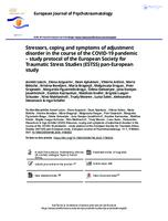 prikaz prve stranice dokumenta Stressors, coping and symptoms of adjustment disorder in the course of the COVID-19 pandemic – study protocol of the European Society for Traumatic Stress Studies (ESTSS) pan-European study