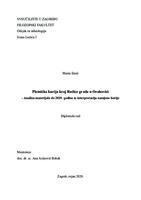 prikaz prve stranice dokumenta Plemićka kurija kraj Ružice grada u Orahovici - Analiza materijala do 2019. godine te interpretacija namjene kurije