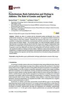 prikaz prve stranice dokumenta Perfectionism, Body Satisfaction and Dieting in Athletes: The Role of Gender and Sport Type