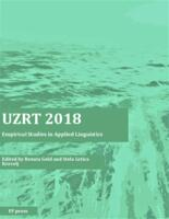 UZRT2018 : empirical studies in applied linguistics