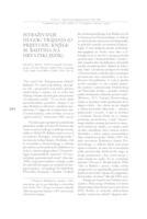Istraživanje dugog trajanja (o prijevodu knjige M. Bahtina na hrvatski jezik)