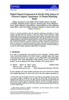 prikaz prve stranice dokumenta Elided Clausal Conjunction Is Not the Only Source of Closest‐Conjunct Agreement: A Picture‐Matching Study