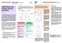 prikaz prve stranice dokumenta Verbal fluency and working memory interaction