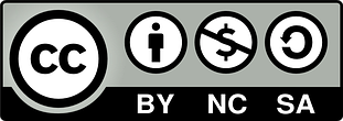 Licence Attribution-NonCommercial-ShareAlike 4.0 International (CC BY-NC-SA 4.0) icon